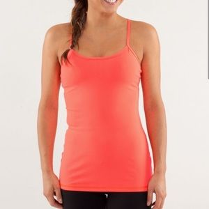 Lululemon Y power tank top size 6 perfect cond